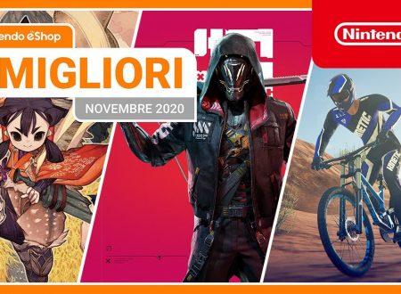 Nintendo eShop: video highlights dei titoli del mese di novembre 2020