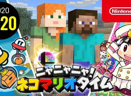 Nyannyan Neko Mario Time: pubblicato l'episodio del 20 novembre dello show felino con Mario e Peach