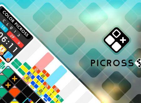 Picross S5: uno sguardo in video al demo dai Nintendo Switch europei
