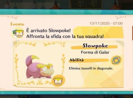 Pokémon Cafe Mix: svelato l'arrivo dell'evento in team con Slowpoke di Galar