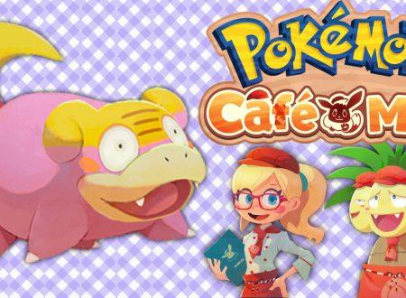 Pokémon Cafe Mix: uno sguardo in video gameplay all'evento speciale in team con Slowpoke di Galar