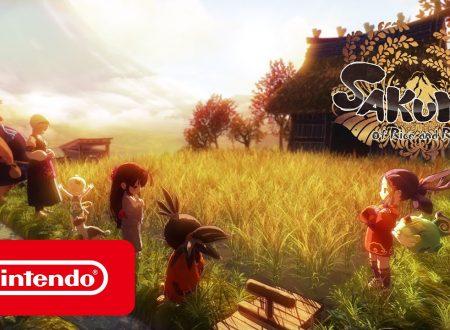 Sakuna: Of Rice and Ruin, pubblicato il trailer di lancio del titolo su Nintendo Switch