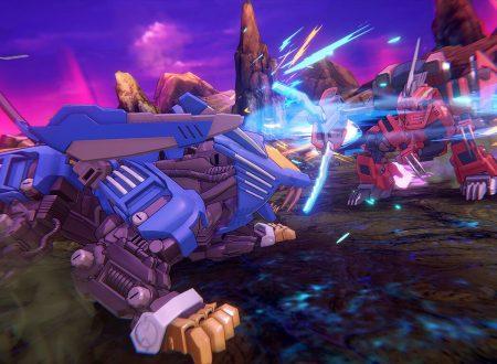 Zoids Wild: Infinity Blast, pubblicato l'opening movie presente nel titolo su Nintendo Switch