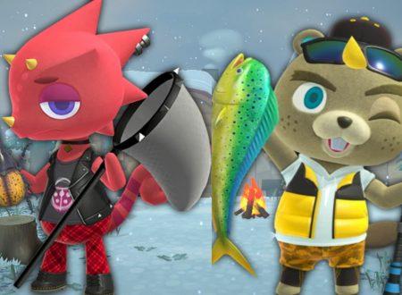 Animal Crossing: New Horizons, uno sguardo agli insetti e pesci catturabili nel mese di gennaio