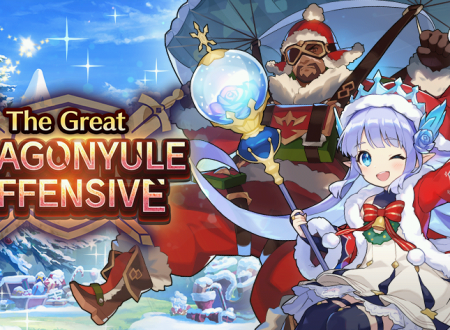 Dragalia Lost: svelato l'arrivo del The Great Dragonyule Offensive, ora disponibile