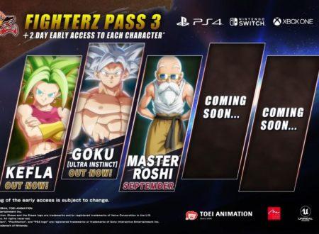 Dragon Ball FighterZ: svelato l'annuncio di un nuovo personaggio DLC il 20 dicembre