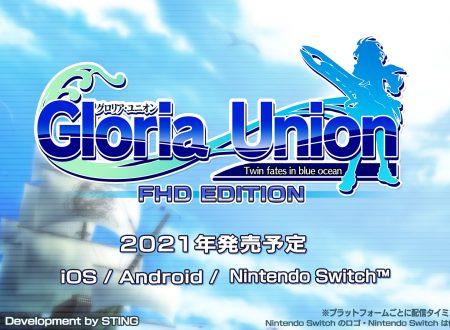 Gloria Union: Twin Fates in Blue Ocean FHD Edition, il titolo annunciato per l'arrivo su Nintendo Switch