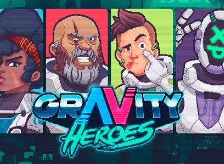 Gravity Heroes: il titolo è in arrivo il 22 gennaio sull'eShop di Nintendo Switch