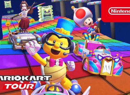Mario Kart Tour: pubblicato il trailer del Tour di Capodanno 2021, disponibile ora nel titolo mobile