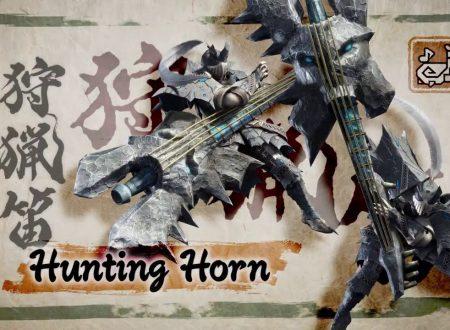 Monster Hunter Rise: pubblicati due nuovi trailer dedicato al Corno da caccia e la Lama caricata