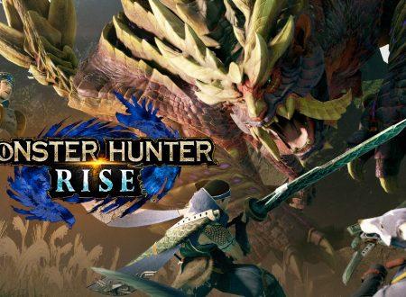 Monster Hunter Rise: pubblicati due nuovi video commercial giapponesi