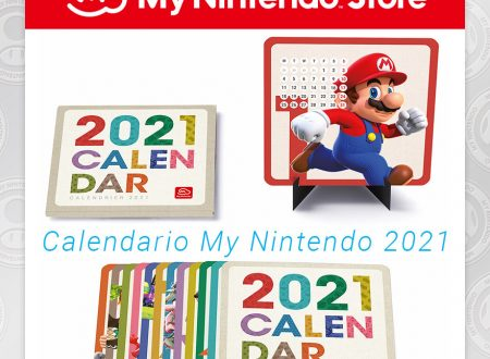 My Nintendo: ora disponibile il Calendario My Nintendo 2021 sullo store
