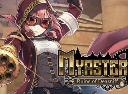 Myastere: Ruins of Deazniff, il titolo in arrivo nella primavera 2021 su Nintendo Switch