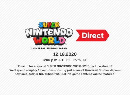 Nintendo Direct: annunciata una nuova presentazione dedicata al Super Nintendo World