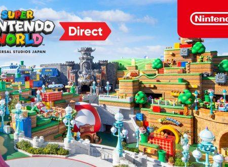 Nintendo Direct: pubblicato il video dell'intera presentazione del Super Nintendo World