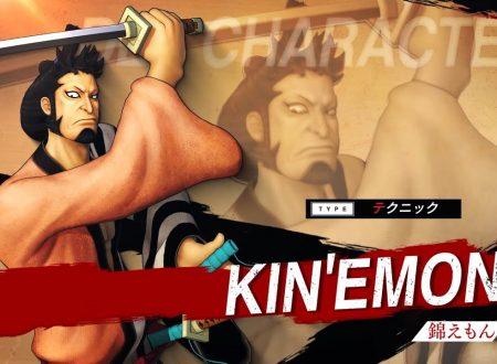 One Piece: Pirate Warriors 4, pubblicato un nuovo trailer dedicato al DLC di Kin'emon