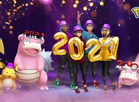 Pokèmon GO: svelati gli eventi in arrivo a gennaio 2021 assieme a Slowpoke e Slowbro festivi