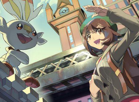 Pokèmon Spada e Scudo: titoli aggiornati alla versione 1.3.1 sui Nintendo Switch europei