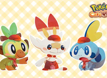Pokémon Cafe Mix: svelato il ritorno degli stage evento con Grookey, Scorbunny e Sobble