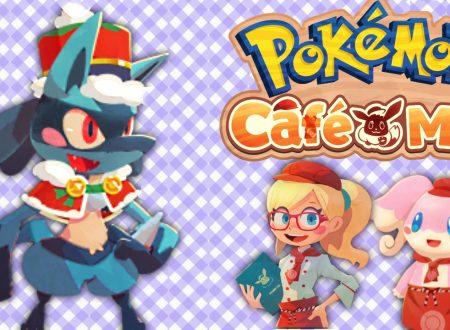 Pokémon Cafe Mix: uno sguardo in video gameplay all'evento speciale in team con Lucario Festivo