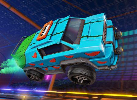 Rocket League: il titolo aggiornato alla versione 1.89 sui Nintendo Switch europei