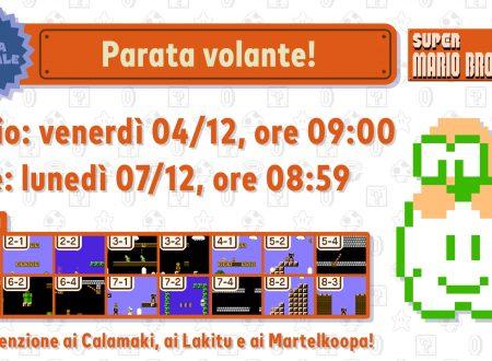 Super Mario Bros. 35: svelato l'arrivo della Sfida Speciale: Parata volante, il 4 dicembre