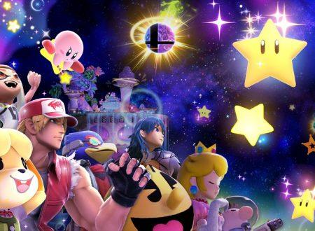 Super Smash Bros. Ultimate: svelato l'arrivo del torneo: Sotto una buona stella