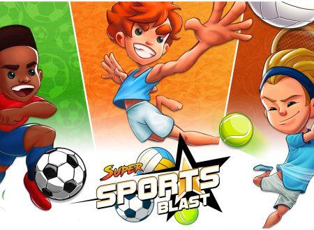 Super Sports Blast: uno sguardo in video al titolo dai Nintendo Switch europei