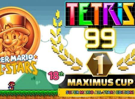 Tetris 99: svelato il diciottesimo Grand Prix con il ritorno del tema di Super Mario All-Stars
