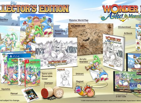 Wonder Boy: Asha in Monster World, svelata una Limited e una Collector's Edition