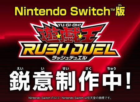 Yu-Gi-Oh! Rush Duel: il titolo annunciato per Nintendo Switch dal Jump Festa 2021 Online