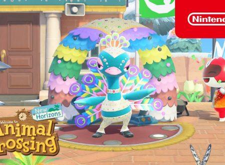 Animal Crossing: New Horizons, annunciato l'arrivo dell'aggiornamento di Carnevale