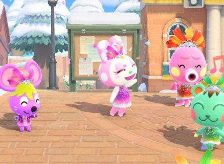 Animal Crossing: New Horizons, pubblicati dei nuovi screenshots dedicati all'update di Carnevale