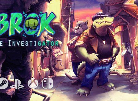 BROK the InvestiGator: il titolo annunciato per l'arrivo nel 2022 su Nintendo Switch