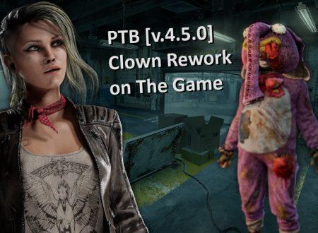Dead By Daylight: uno sguardo in video alla PTB con il rework del Clown, il nuovo HUD, mappe e animazioni dei survivor