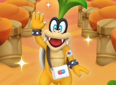 Dr. Mario World: svelato l'arrivo di Dr. Iggy, in arrivo il 14 gennaio nel titolo mobile