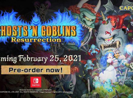 Ghosts 'n Goblins Resurrection: pubblicato il secondo video degli sviluppatori, Art 'n Abilities