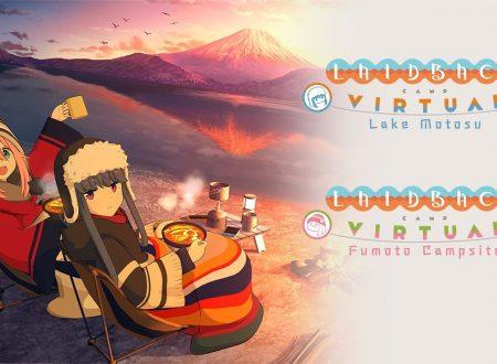 Laid-Back Camp -Virtual- Lake Motosu e Fumoto Campsite in arrivo ad aprile 2021 su Nintendo Switch