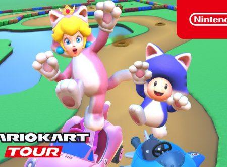 Mario Kart Tour: pubblicato il trailer del Tour Felino, disponibile ora nel titolo mobile