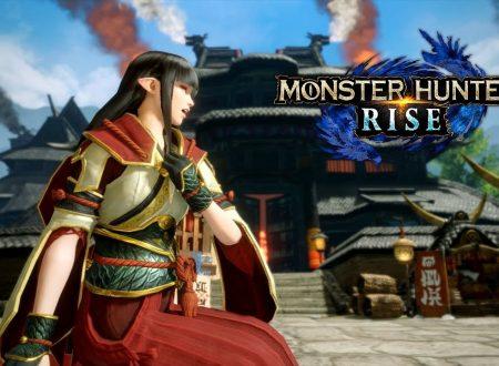 Monster Hunter Rise: la demo è ufficialmente in arrivo nelle prossime ore su Nintendo Switch