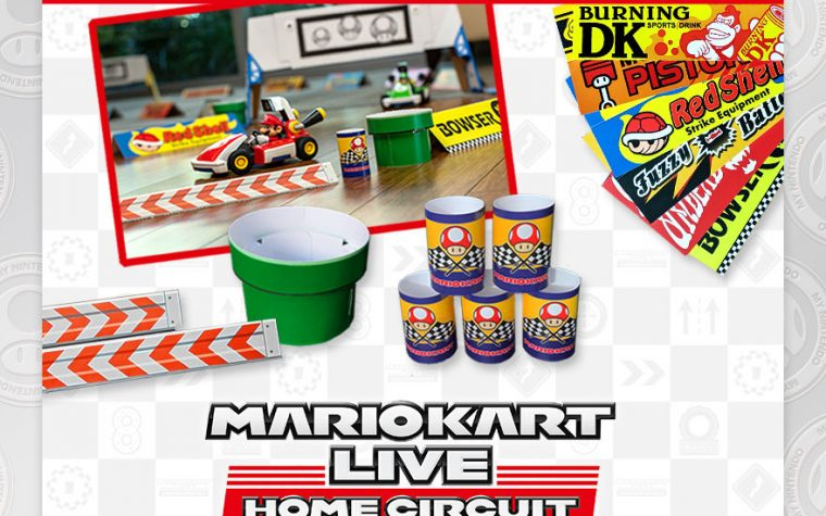 My Nintendo: ora disponibile il Kit per la decorazione del percorso di Mario Kart Live: Home Circuit