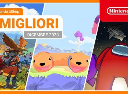 Nintendo eShop: video highlights dei titoli del mese di dicembre 2020