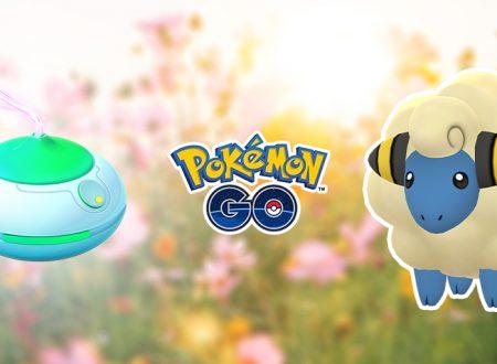 Pokémon GO: svelato l'arrivo della giornata dell'aroma: tipo Elettro e tipo Drago, con Mareep!