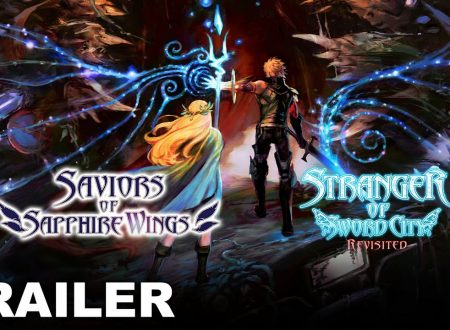 Saviors of Sapphire Wings & Stranger of Sword City Revisited: un trailer mostra le nuove feature