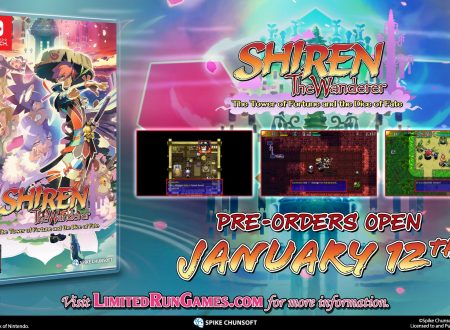 Shiren the Wanderer: The Tower of Fortune and the Dice of Fate, annunciata una Collector's Edition