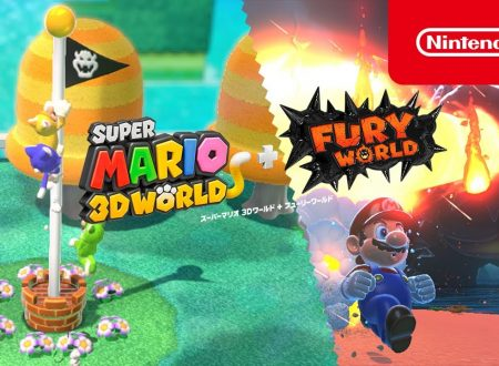 Super Mario 3D World + Bowser's Fury: pubblicati due video commercial nipponici