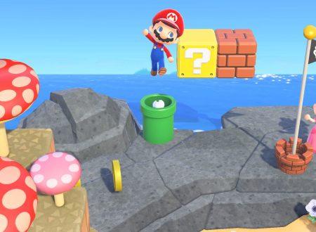 Animal Crossing: New Horizons, i mobili a tema Super Mario in arrivo il 1 marzo con un update gratuito