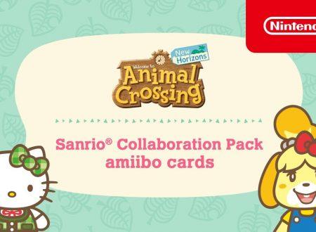 Animal Crossing: New Horizons, pubblicato un trailer dedicato alla collaborazione con Sanrio tramite le amiibo card