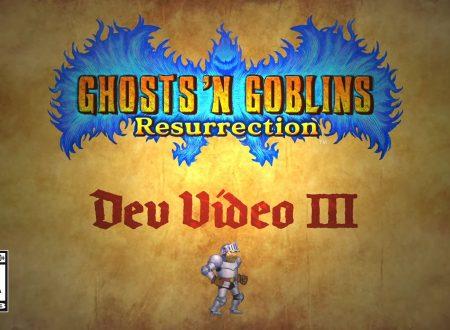 Ghosts 'n Goblins Resurrection: pubblicato il terzo video degli sviluppatori, Difficulty 'n Challenge