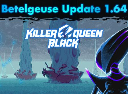 Killer Queen Black: il titolo aggiornato alla versione 1.64 sui Nintendo Switch europei
